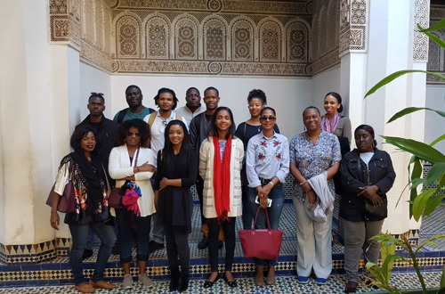 OECS DIPLOMATS ATTEND INTERNATIONAL TRAINING CYCLE IN MOROCCO