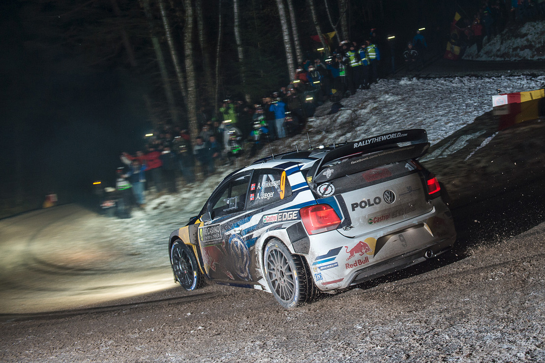 "Third ""Monte"" victory in a row: Ogier wins opening round of the WRC, Mikkelsen second"