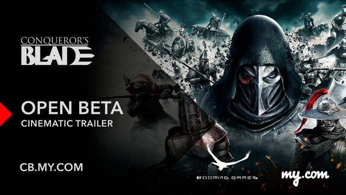 MEDIEVAL MMO CONQUEROR'S BLADE ANNOUNCES OPEN BETA; FREE ACCESS FOR ALL BEGINS ON JUNE 4