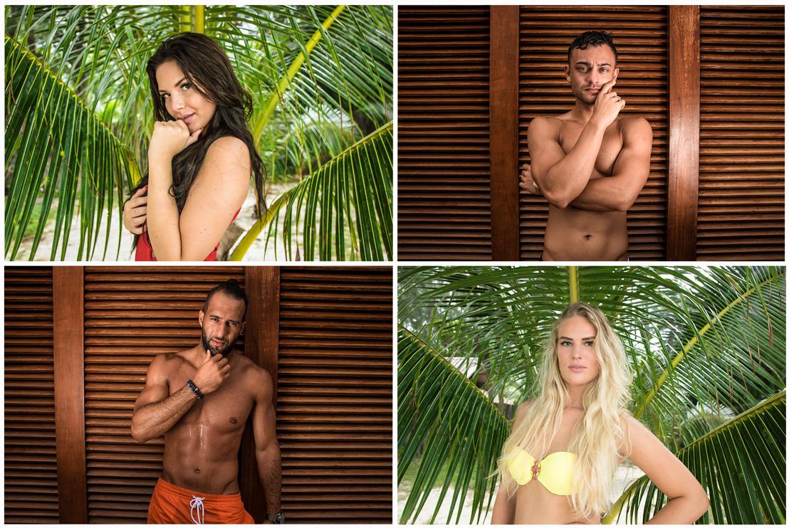 Vier nieuwe vrijgezellen doen morgen hun intrede in Temptation Island