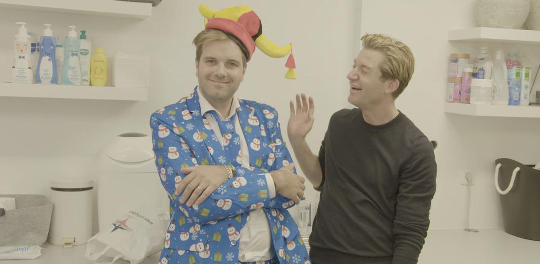 """""""Niels ziet eruit als een goedkope kerststronk"""": Kerstoutfits Niels Albert en Valeska krijgen fikse boost van Jani in Zo Man Zo Vrouw"""