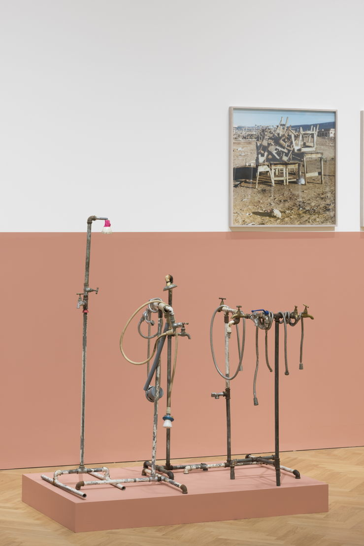 Yto Barrada, Plumber Assemblage, 2015 (c) Pace Gallery London