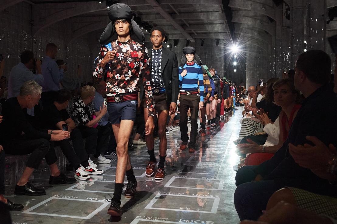 El Espacio de la Colección Prada Primavera/Verano 2019 para Hombres: ESPACIO CARTESIANO