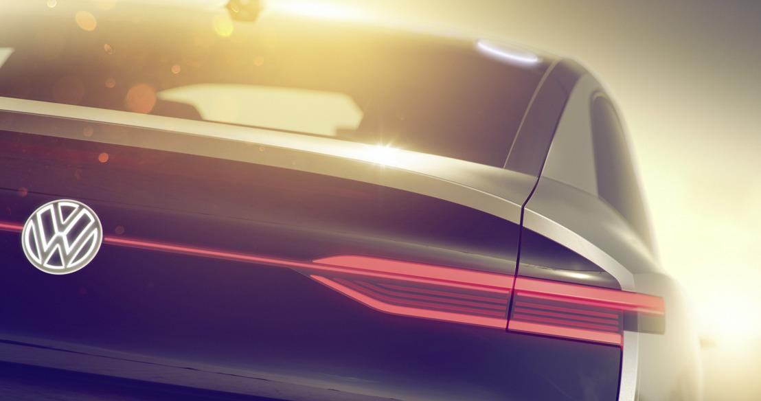 Volkswagen dévoile un crossover électrique à Shanghai