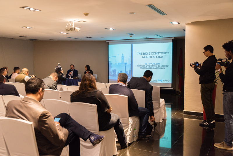 Press Conference on The Big 5 Construct North Africa 2017 led by Portfolio Exhibitions Director, Andy Pert