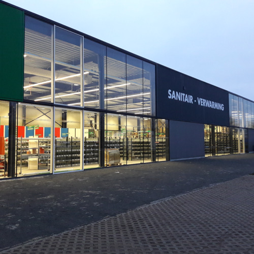 Het Sanicenter van FACQ in Aarschot is verhuisd