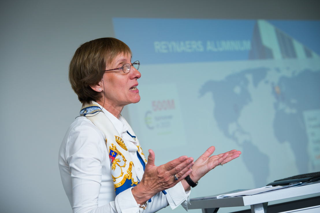 CEO Martine Reynaers