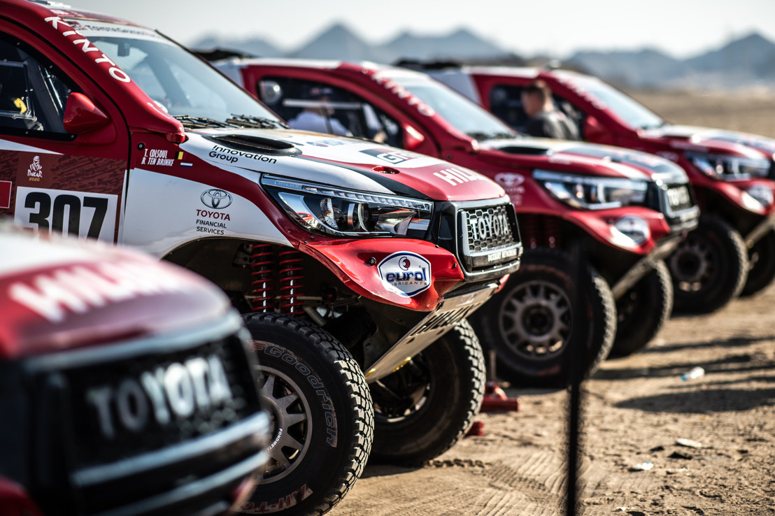 TOYOTA GAZOO RACING READY FOR DAKAR RALLY TITLE DEFENCE