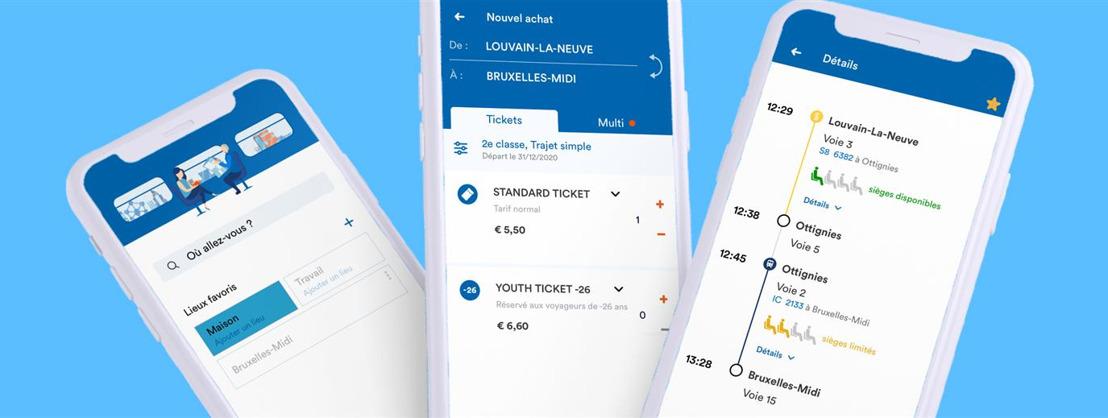 La SNCB lance sa nouvelle application mobile