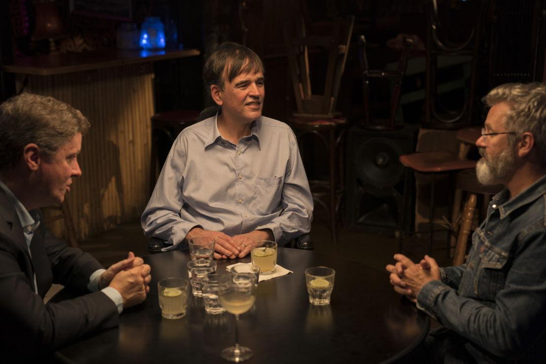 Richard Fidler, Tim Ferguson and Paul McDermott, credit Mark Rogers