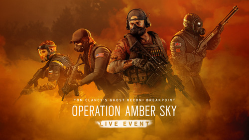 TOM CLANCY'S GHOST RECON® BREAKPOINT: OPERATION AMBER SKY, DAS TOM CLANCY'S RAINBOW SIX® SIEGE CROSSOVER-LIVE-EVENT AB 21. JANUAR VERFÜGBAR