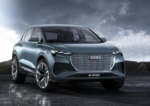 Preview: Un coup d'œil sur l'avenir de la gamme : l'Audi Q4 e-tron concept
