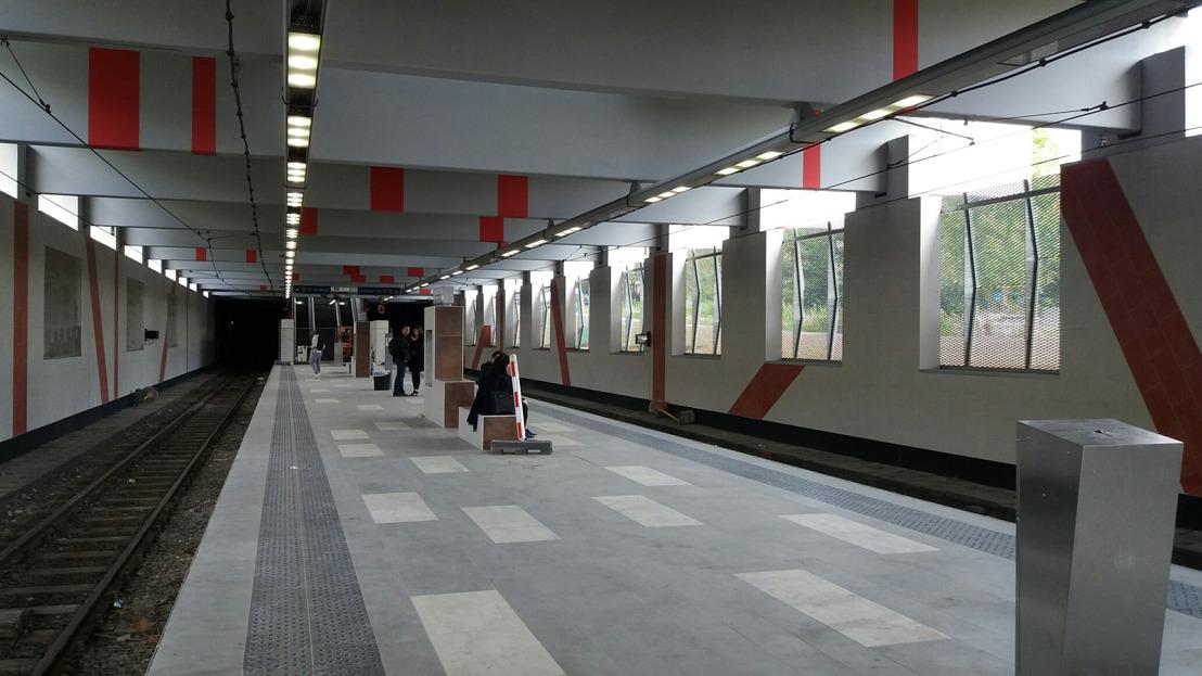 La rénovation de la station de Dampremy continue