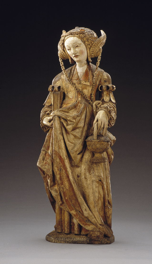 Master of the Utrecht Stone Head of a Woman, Utrecht, St. Dorothea, c. 1520-30 © Suermondt-Ludwig-Museum
