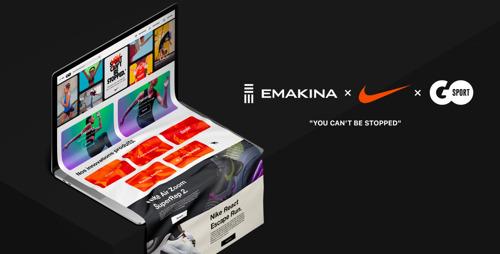 Emakina remporte le sprint pour Nike et GO Sport