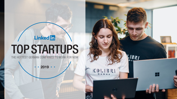 Preview: Kolibri Games auf der Liste der LinkedIn Top Startups 2019
