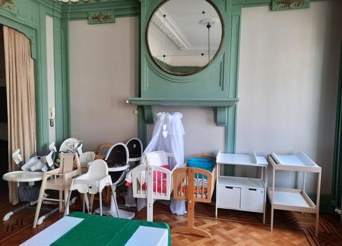 Opening eerste Gezinsbond-babytheek in Antwerpen