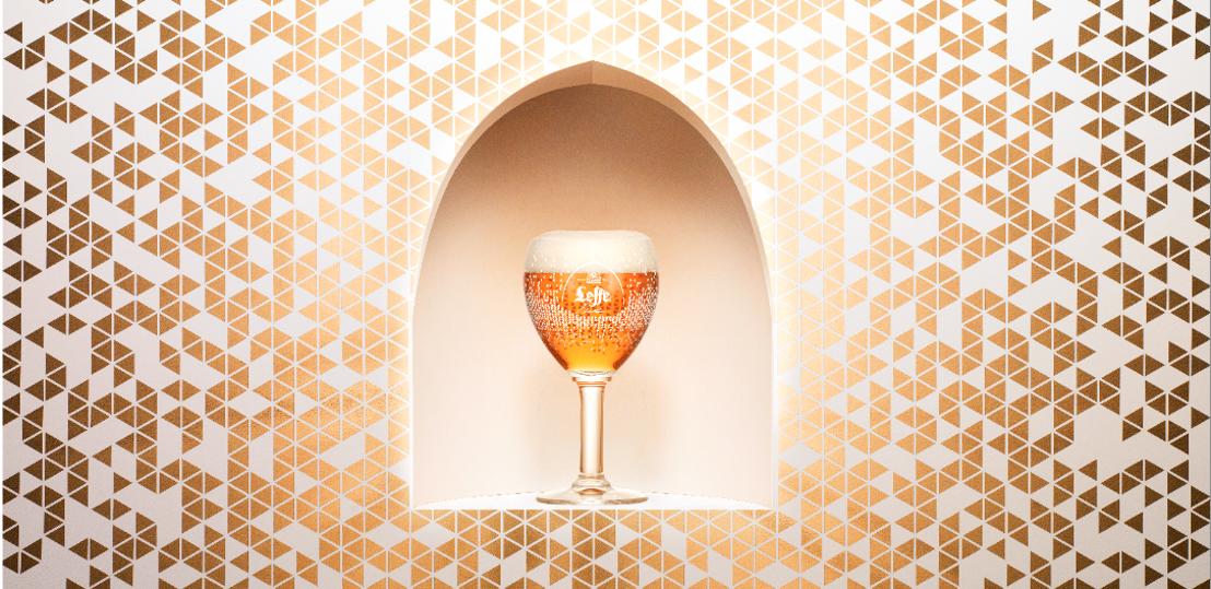 Pixelkunstenaar Charles Kaisin ontwerpt unieke limited edition van het iconische Leffe-glas