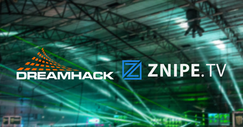 DreamHack expands partnership with Znipe TV