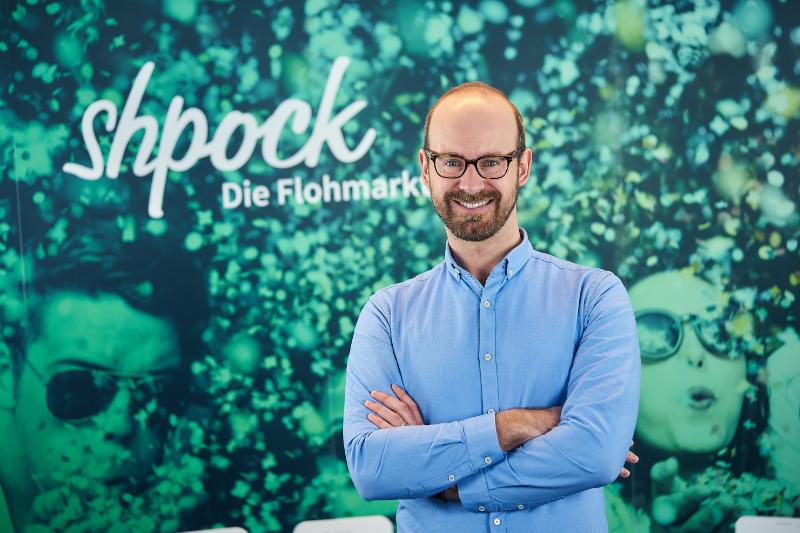 Bernhard Baumann, CEO von Shpock - Bildcredit: (c) Shpock - Abdruck honorarfrei