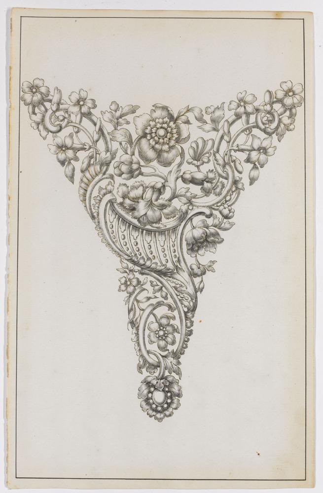 Preview: Rare série d'esquisses de bijoux du XVIIIe siècle à DIVA