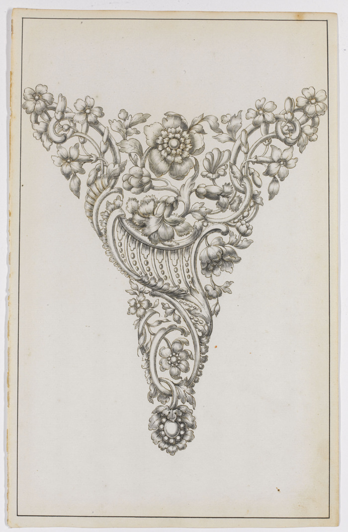 Rare series of 18th century jewellery designs in DIVA museum
