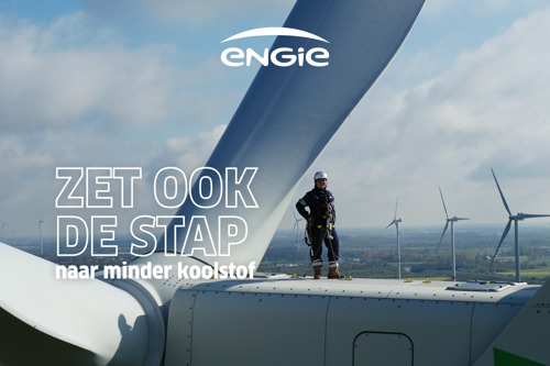 ENGIE en TBWA zetten de stap naar minder koolstof