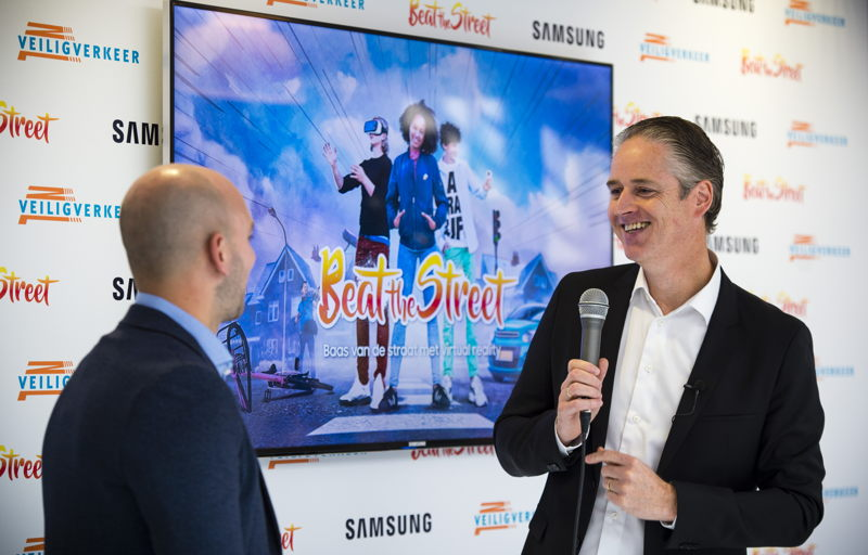 Menno van den Berg, Vice President Mobile Samsung Electronics Benelux_Beat the Street