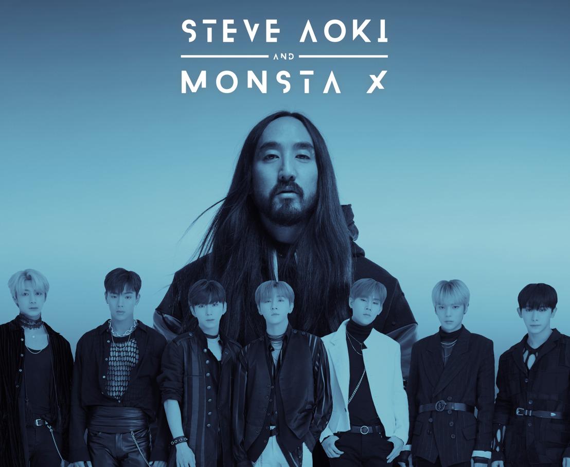 Steve Aoki x Monsta X