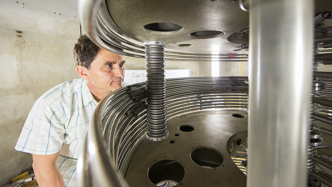 ANU launches virtual tour of lab searching for traces of exploded stars
