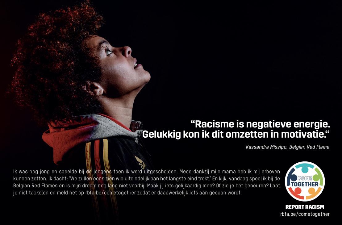 KBVB, Voetbal Vlaanderen en ACFF lanceren nieuw actieplan discriminatie en racisme