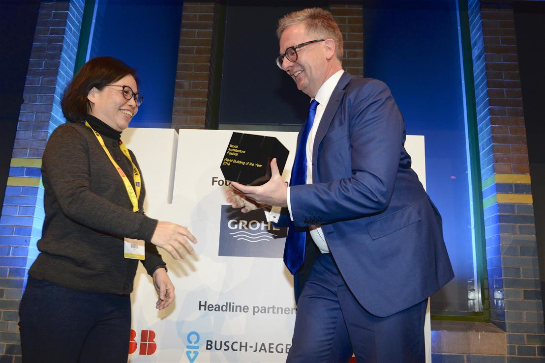 GROHE deelt prijzen uit op het World Architecture Festival