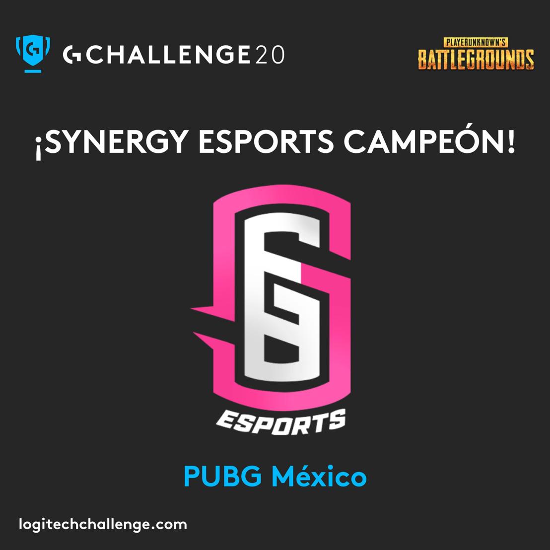 Synergy Esports ganó la final nacional de PUBG en el Logitech G Challenge 2020