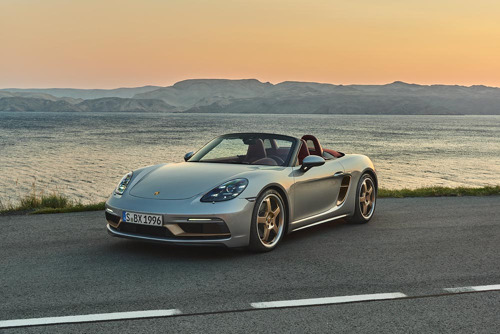 Porsche rend hommage au concept car Boxster de 1993
