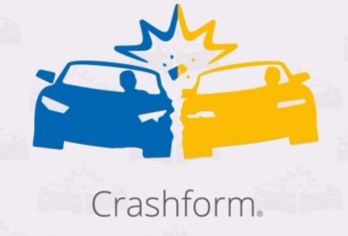 La déclaration d'un accident avec Crashform est désormais également possible avec deux smartphones