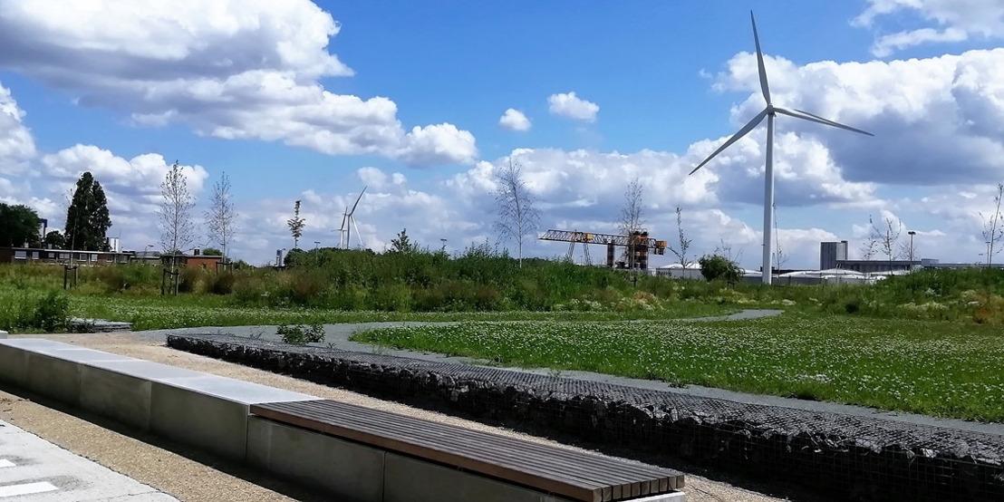 Inhuldiging nieuw park en speelbos voor Kanaaldorpen Doornzele en Terdonk