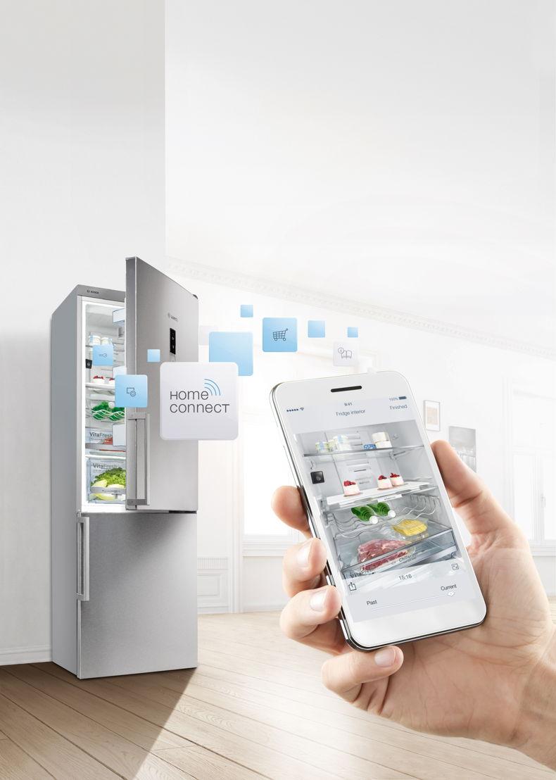 Réfrigérateur connecté ©Bosch