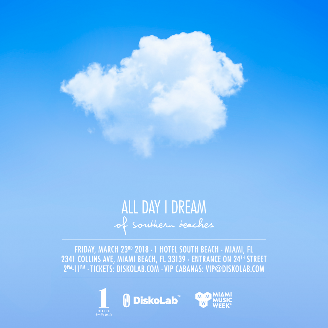 Lee Burridge's All Day I Dream Touches Down at Miami Music Week 2018