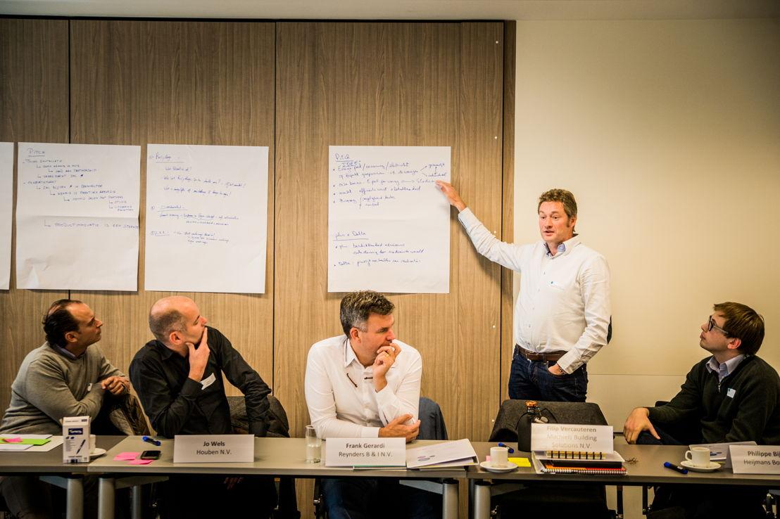 Deelnemers worden uitgedaagd om hun eigen idee te formuleren
