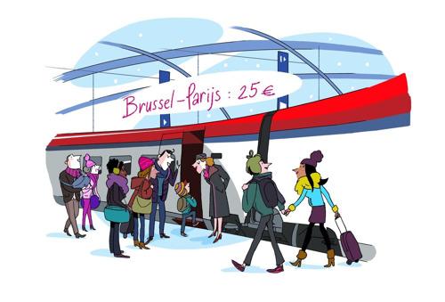 Eindejaarspromotie bij Thalys: een lawine van lage prijzen!