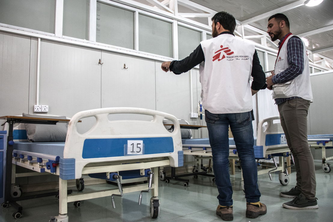 New comprehensive post-operative care facility in East Mosul © MSF/Sacha Myers
