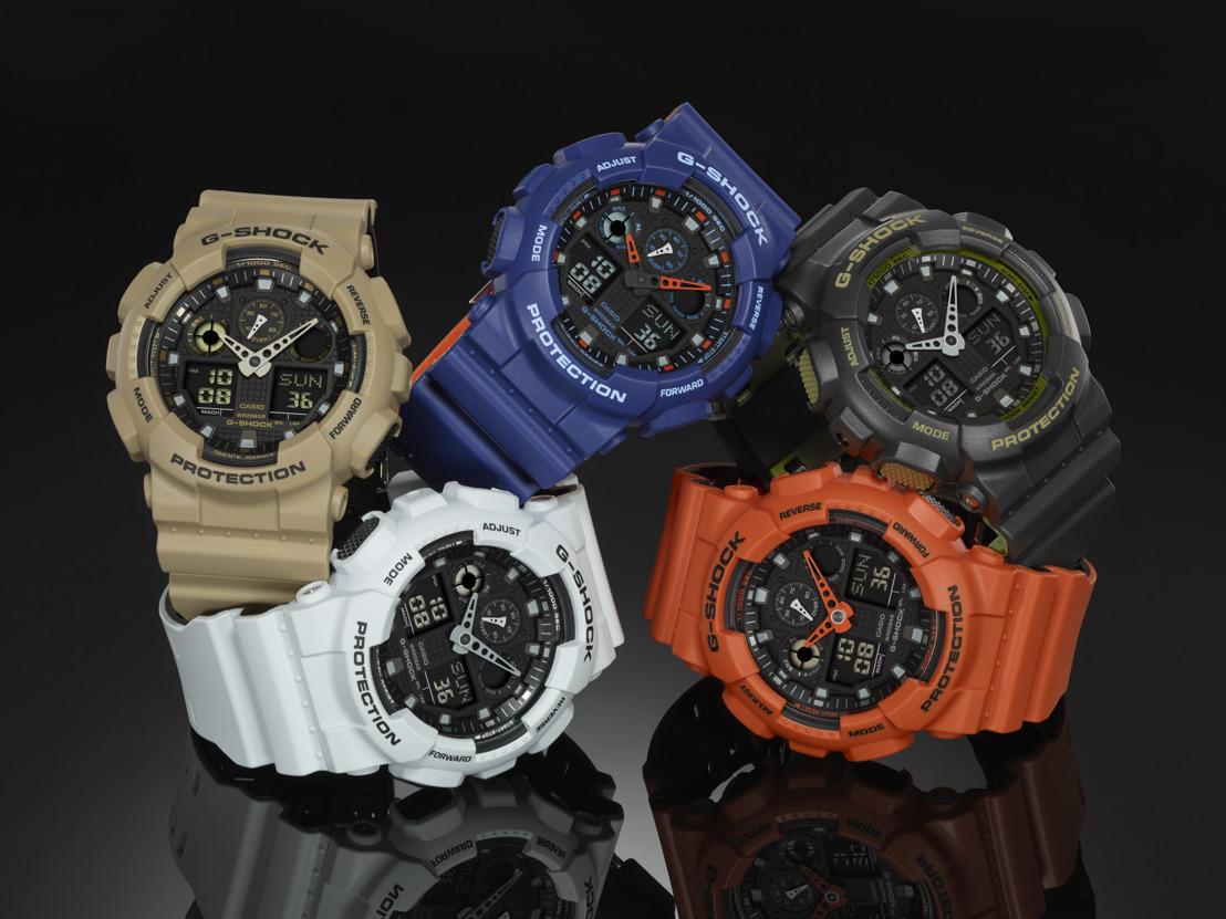 Presume tu estilo militar este regreso a clases con la colección GA100L Military Color Series