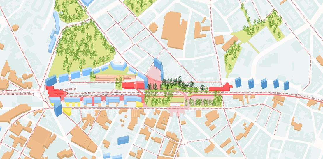 Le Gouvernement approuve le PAD Gare de l'Ouest en 2ème lecture