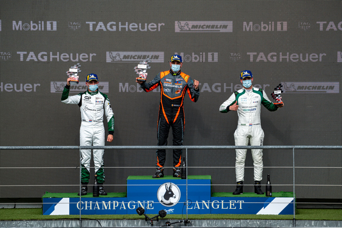 Porsche Carrera Cup Benelux: Dylan Derdaele oppermachtig in Spa-Francorchamps