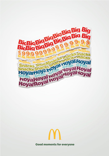 TBWA\Belgium and McDonald's Belgium redesign rainbow flag using packaging