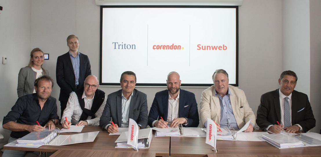Triton neemt Corendon over via Sunweb Group