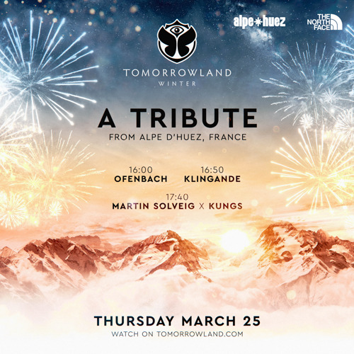 Dancing on top of the French Alps with Tomorrowland, featuring Martin Solveig x Kungs, Klingande and Ofenbach