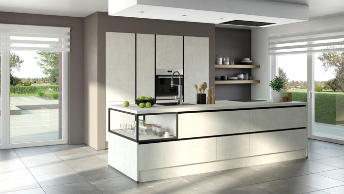 Keukeneiland : gezelligheid troef !
