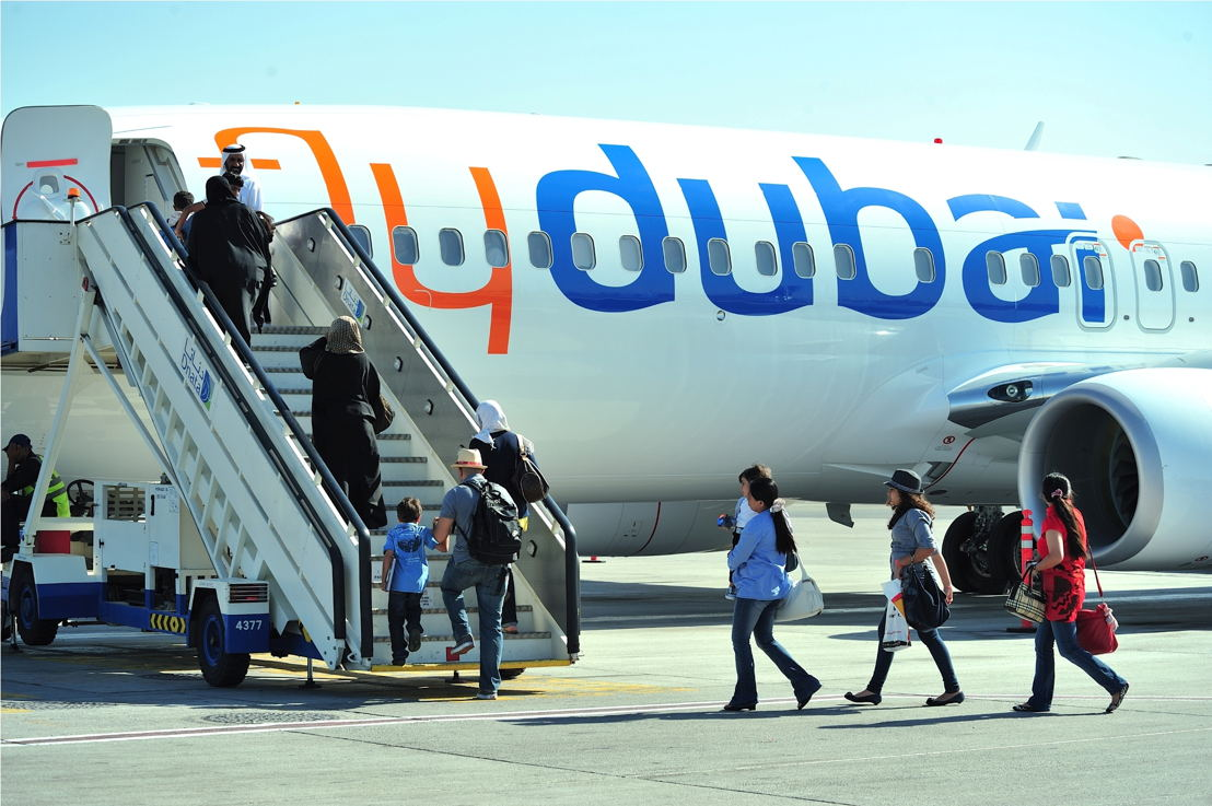 Passengers boarding