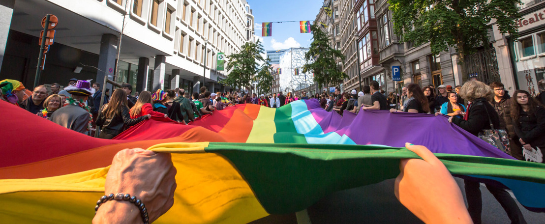Belgian Pride dit jaar in het teken van mentale en fysieke gezondheid